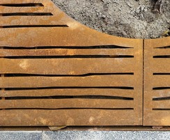 Tree Grilles CorTen Extra Fine Bamboo detail