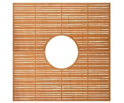 Tree Grilles CorTen Extra Fine Bamboo