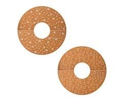 Tree Grilles CorTen Extra Fine Casual Dots & Bubbles
