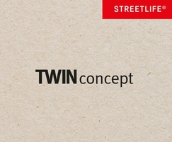 Streetlife: TWIN Concept: innovation in sustainability & aesthetics