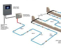 Multi area / floor design using location system