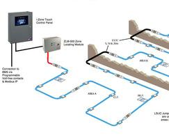 Monitoring of detectors across different areas / floors
