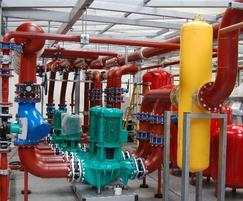 Packaged pumping station