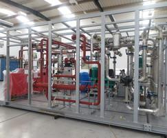 Packaged plant room installation for store