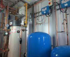 Packaged plant room installation