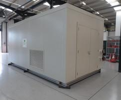 Packaged boiler plantroom manufactured at CAS