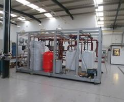 Package boiler plantroom at Constant Air Systems