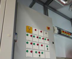 Package boiler plantroom control panel
