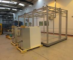 CAS packaged plantroom for the air handling units