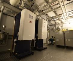 Boiler plantroom