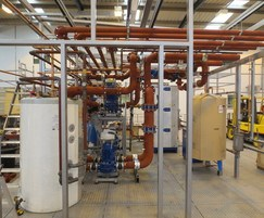 Plantroom installation for refurbished offices