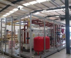 Prefabricated packaged plantroom