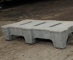 Drainage tile can be used for plastic and mineral media
