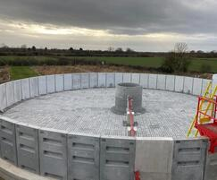Bagnall Installation of Filter Bed Wall Units