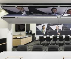 Style Door Systems: Revolutionary Skyfold STC60 at Global Investment Firm