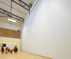 Style Door Systems: Style launches Multiroll partition for sports halls
