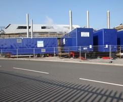 Byworth Boilers: Byworth Boiler Hire lets off 24 tonnes of steam