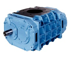 Rotary lobe blowers for tankers and silo trucks