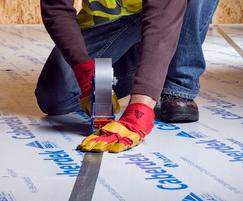 Caberfix tape is ideal for sealing our Caberdek board.