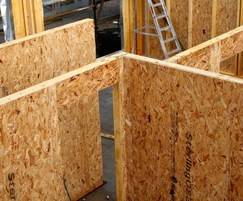 OSB timber frame