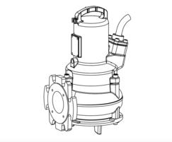 Submersible wastewater pump type ABS AS | Sulzer | ESI Enviropro