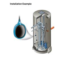 KS float switch - Installation Example