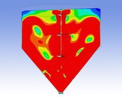 Scaba CFD simulation