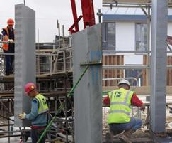 Thin-joint block construction for home development