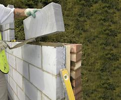 Celcon Solar Grade blocks for walls
