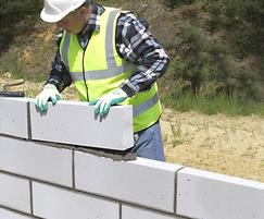 Celcon Plus blocks for walls and foundations