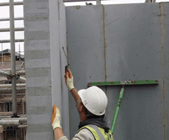 Thin-joint used in  Code for Sustainable homes level 6