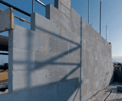 Thin-joint blocks for sustainable homes