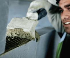 Thin-joint block construction