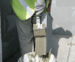Thin-joint blocks used in  Code for Sustainable homes 6