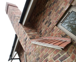Exterior brickwork