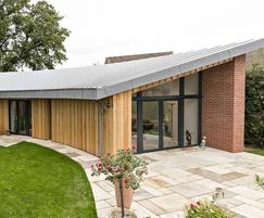 Timber faced external wall - U value 0.096W/m2K