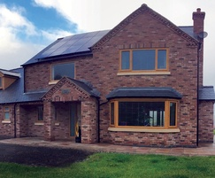 Self-build home built with Celcon Jumbo Bloks from H+H