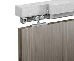 Soffit fix single timber door example