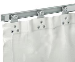 Sliding curtain example