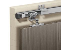 Face fix single timber door example