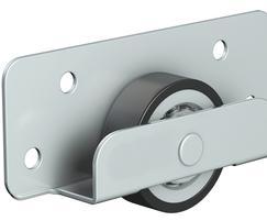 Bottom roller, steel nylon wheel, various capacities