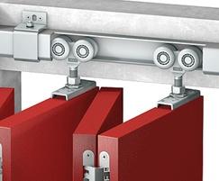 Series 250 sliding door system example