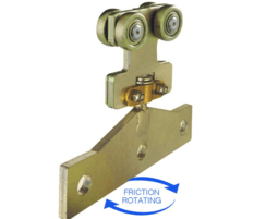 Runners Sliding Door Systems: New friction rotating hanger for overhead runway systems