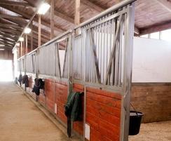 70 Series sliding door gear in stables