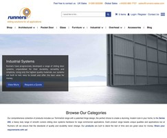 New website from Runners Sliding Door Systems