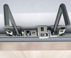 The doors feature a soft-close mechanism