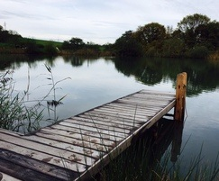 Thermory eco-friendly timber jetty