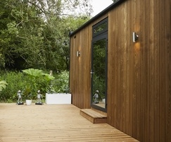 Eco-friendly thermo treated ash cladding