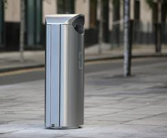 ss16.2 stainless steel bins for Dublin Docklands