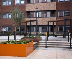 Furniture for student accommodation outdoor space